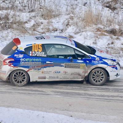 Ecogreen sponsorise une voiture au Rallye de Monte Carlo